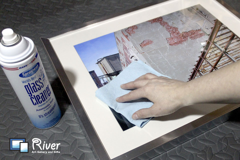 Tips: Cleaning Glass in Framed Artwork - River Art Gallery and Gifts