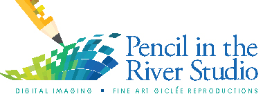 Pencil in the River